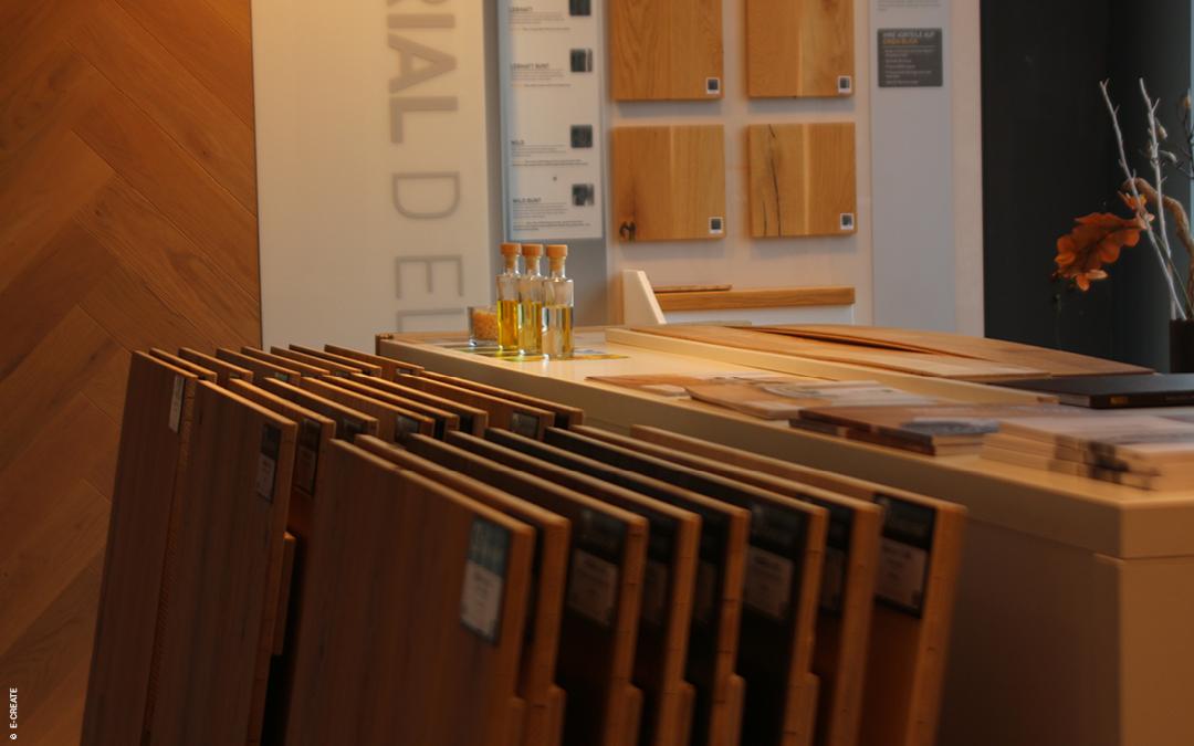 Holz im Innenraum